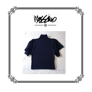 Mossimo Navy Wide Sleeve Sweater